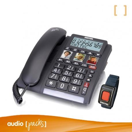 Teléfono fijo Switel TF560