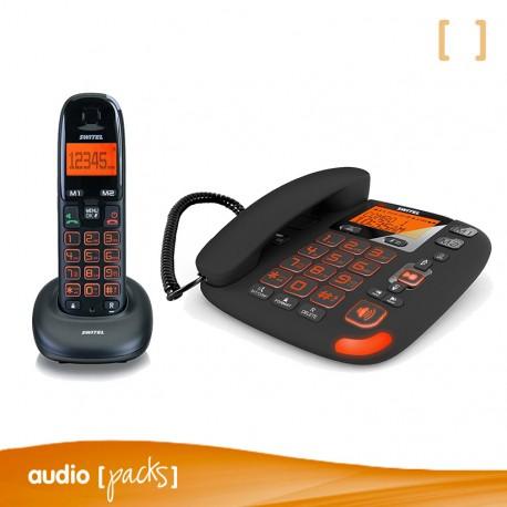 Teléfono inalámbrico Switel DCT 50072 VITA