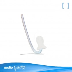 Tubo con chupete estándar para audífonos BTE - Audiopacks, Barcelona