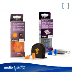 Pack de Protectors auditius Travel&Swim - Audiopacks, Barcelona