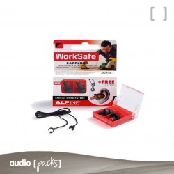 Tapones Alpine Worksafe Audiopacks