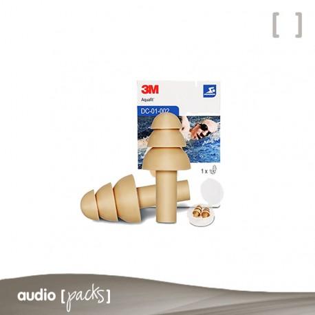 Taps Aquafit 3M per protecció oïdes (Adults)