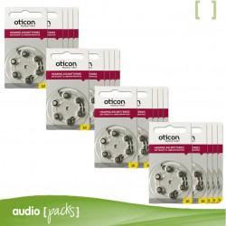 240 pilas Oticon amarillas para audífonos (10)