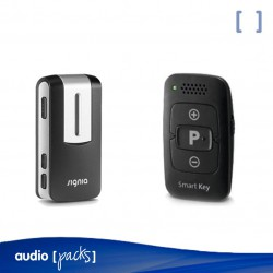 Pack Smart Key de Signia + StreamLine Mic de Signia per a audiòfons.