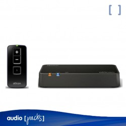 Pack Oticon Connect TV 3.0 + Remote Control per a audiòfons