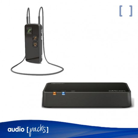 Pack Oticon Connect TV 3.0 + Streamer Pro per a audiòfons