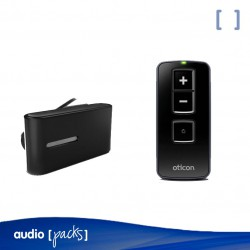 Pack Oticon ConnectClip + Remote Control per a audiòfons