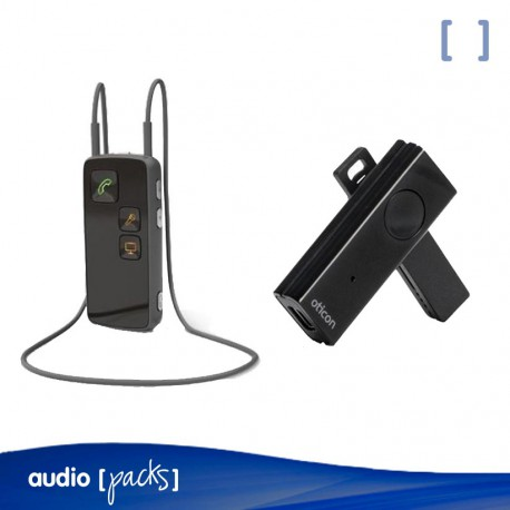 Pack Oticon ConnectLine + Streamer Pro per a audiòfons