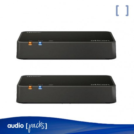 Pack Oticon 2 Connect TV 3.0 para audífonos