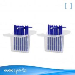 Pack de 2 Filtros para audífonos Universales