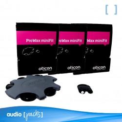 Pack 3 Filtres ProWax MiniFit d'Oticon per audiòfons