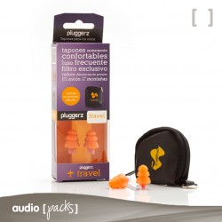Protectores auditivos Uni-fit Travel - Audiopacks, Barcelona