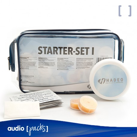 Pack auditiu neteja Starter-Set BTE de Hadeo per audiòfons