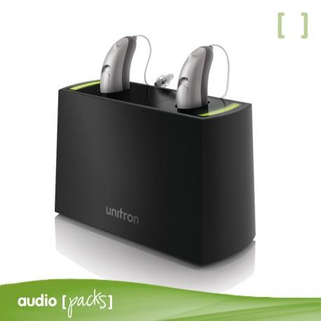Mini cargador para audífonos recarregables
