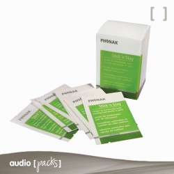 Adhesius Stick'n Stay de Phonak per a persones amb audiòfons