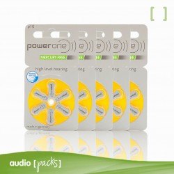 30 piles grogues per a audiòfons (10) Powerone - Audiopacks, Barcelona