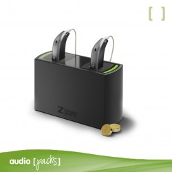 Carregador audiòfons Oticon - Audiopacks, Barcelona