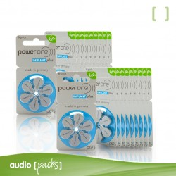 120 pilas Implante coclear Powerone - Audiopacks, Barcelona