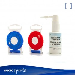 Pack de filtros HF3 + Spray para audífonos - Audiopacks, Barcelona