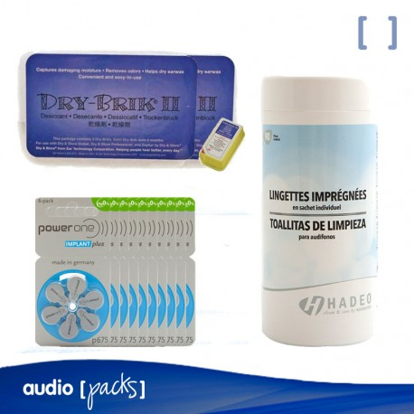 Pack per Implants Coclears - Audiopacks, Barcelona