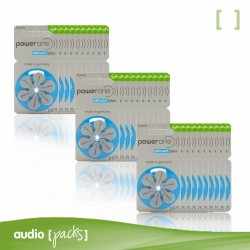 180 pilas Implante coclear Powerone- Audiopacks, Barcelona