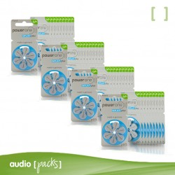 240 pilas Implante coclear Powerone - Audiopacks, Barcelona